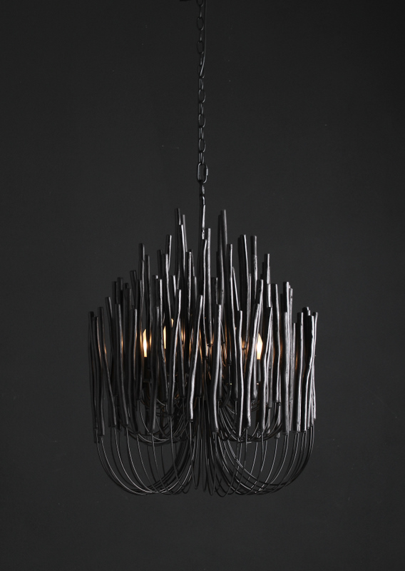 Woodsticks Chandelier