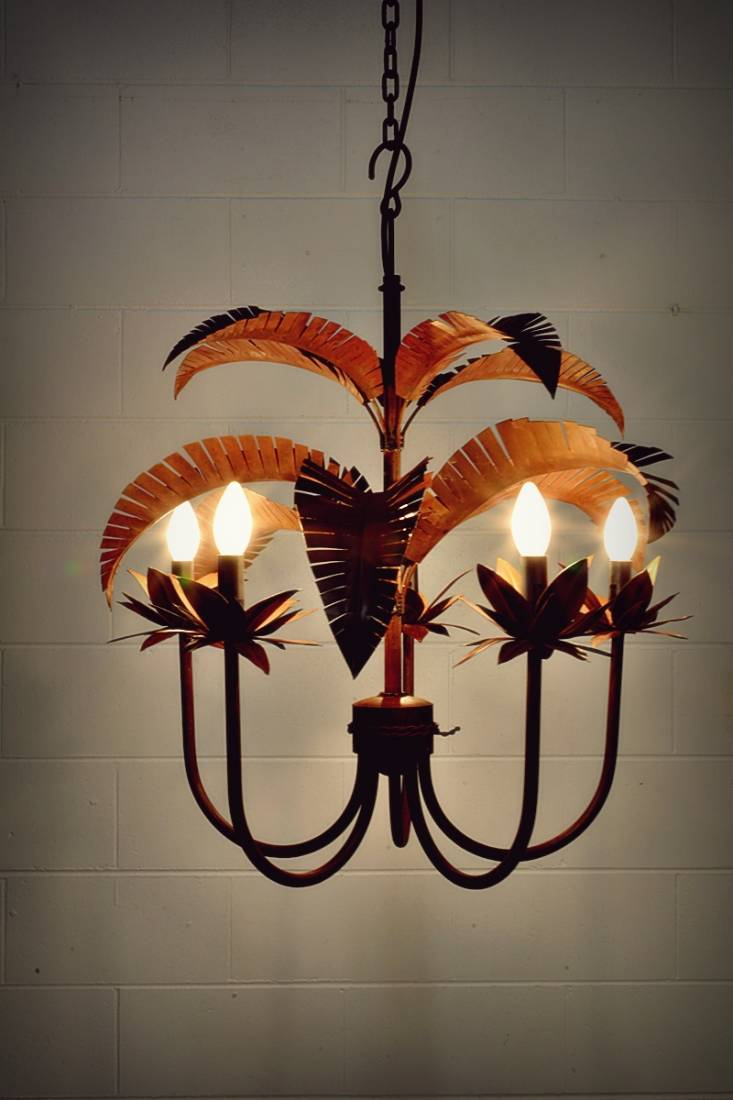 Palm Springs Chandelier - Russet.