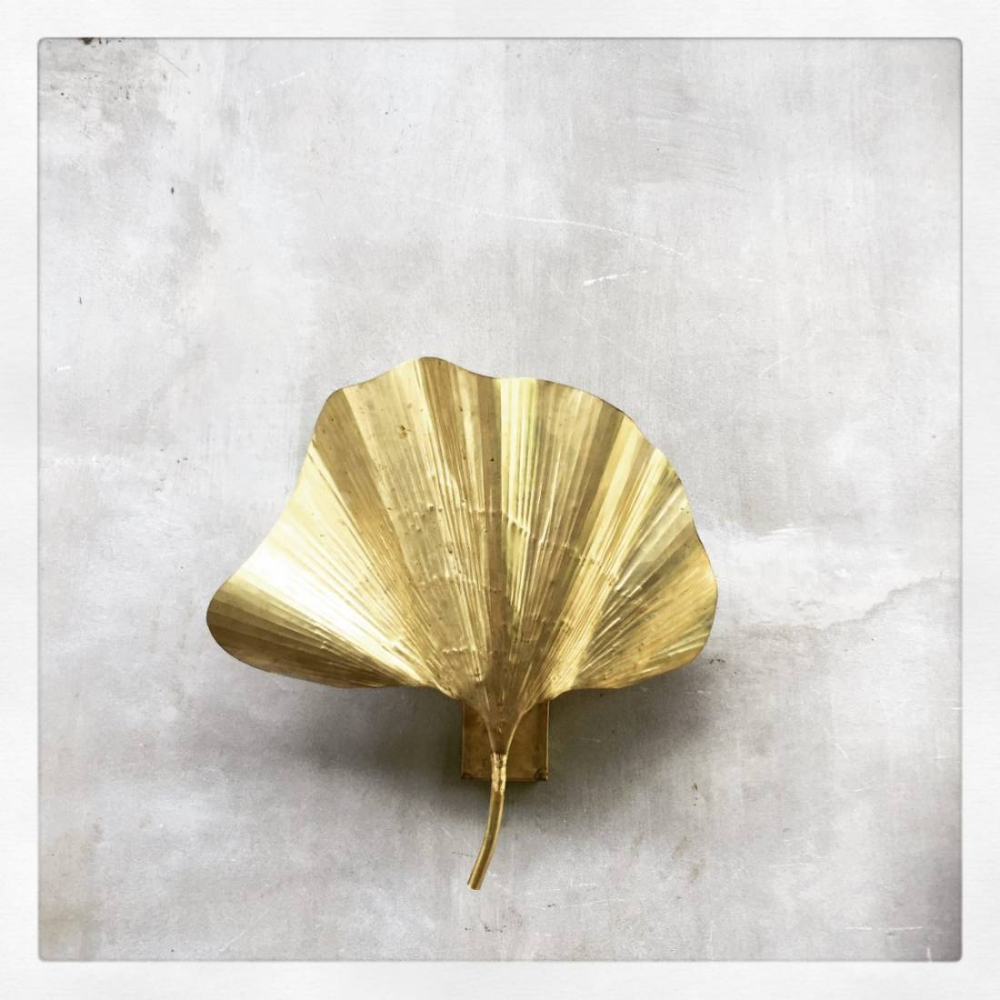 Gingko Leaf Wall Sconce