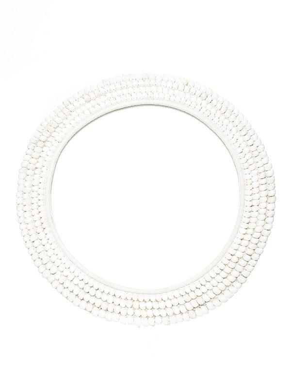 18. St Barts Mirror - White. 800D mm ws - 395 R - 790